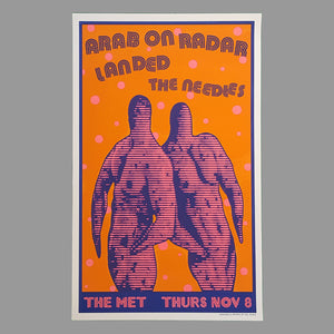 Arab on Radar / Landed Poster - Monoroid