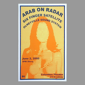 Arab on Radar Six Finger Satellite Poster - Monoroid