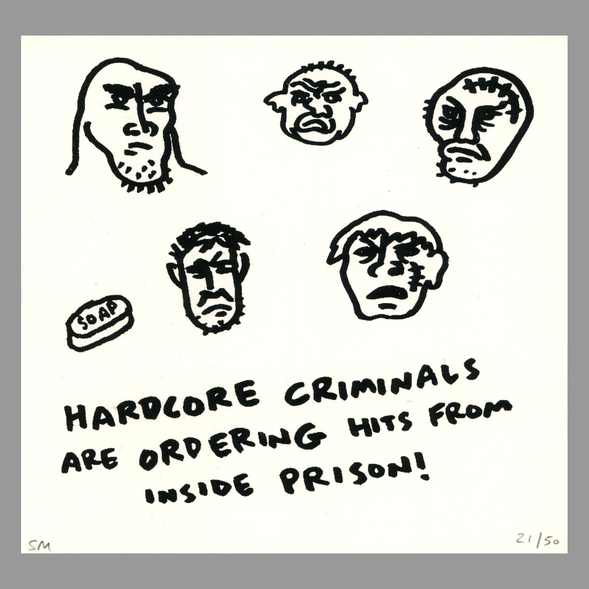 Hardcore Criminals by Sam McPheeters - Monoroid