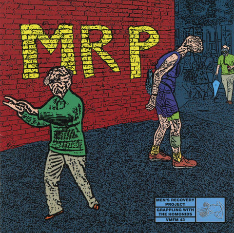 Men's Recovery Project / Sinking Body Grappling with the Homonids Split CD - Monoroid