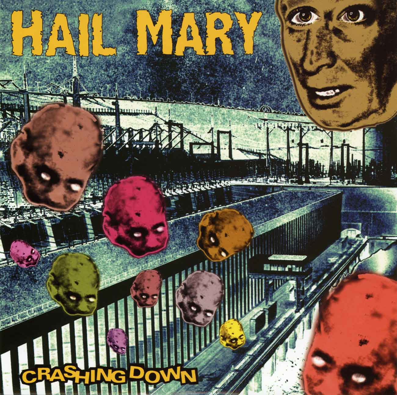 "Hail Mary - Crashing Down 7"" - Monoroid"