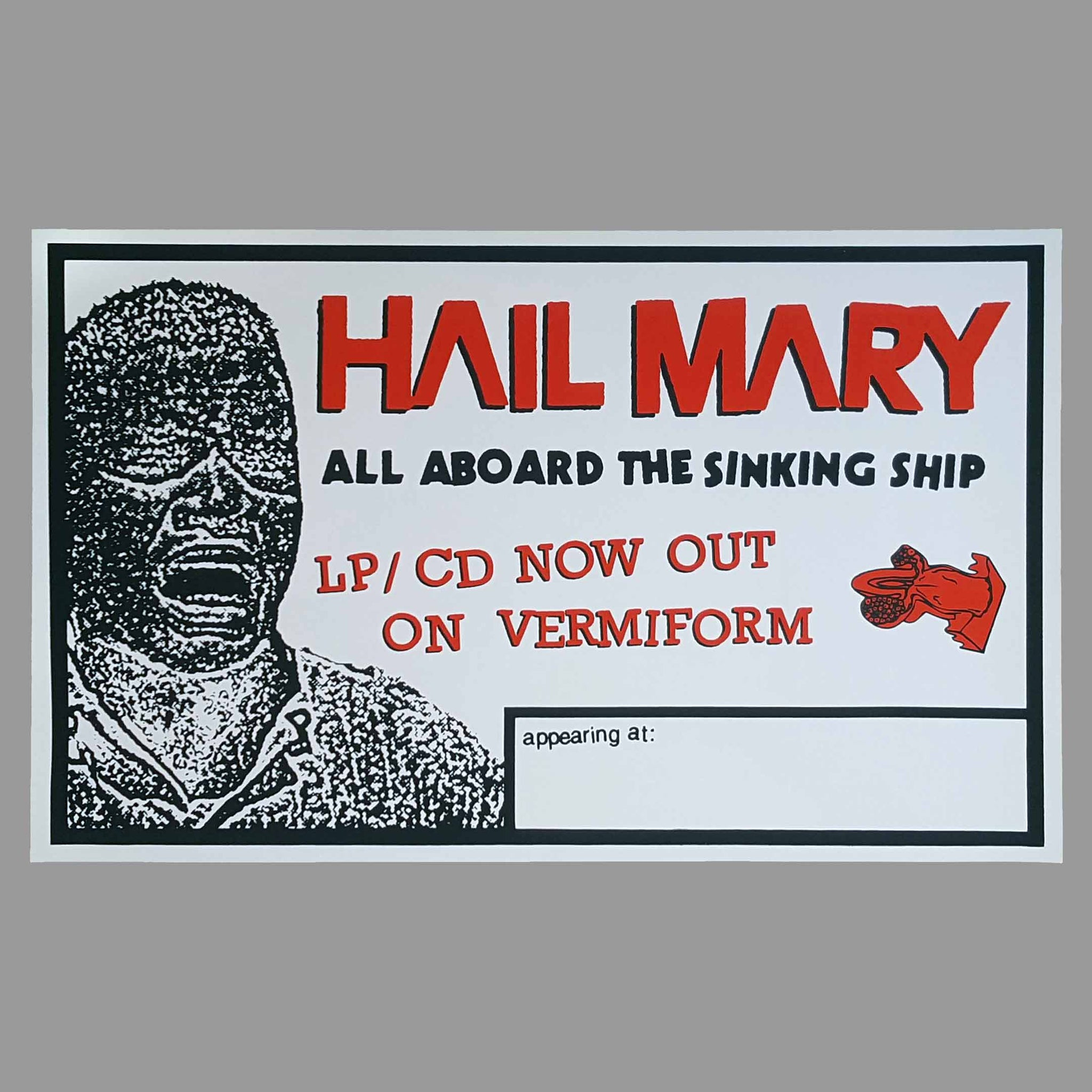 Hail Mary Promo Poster - Monoroid