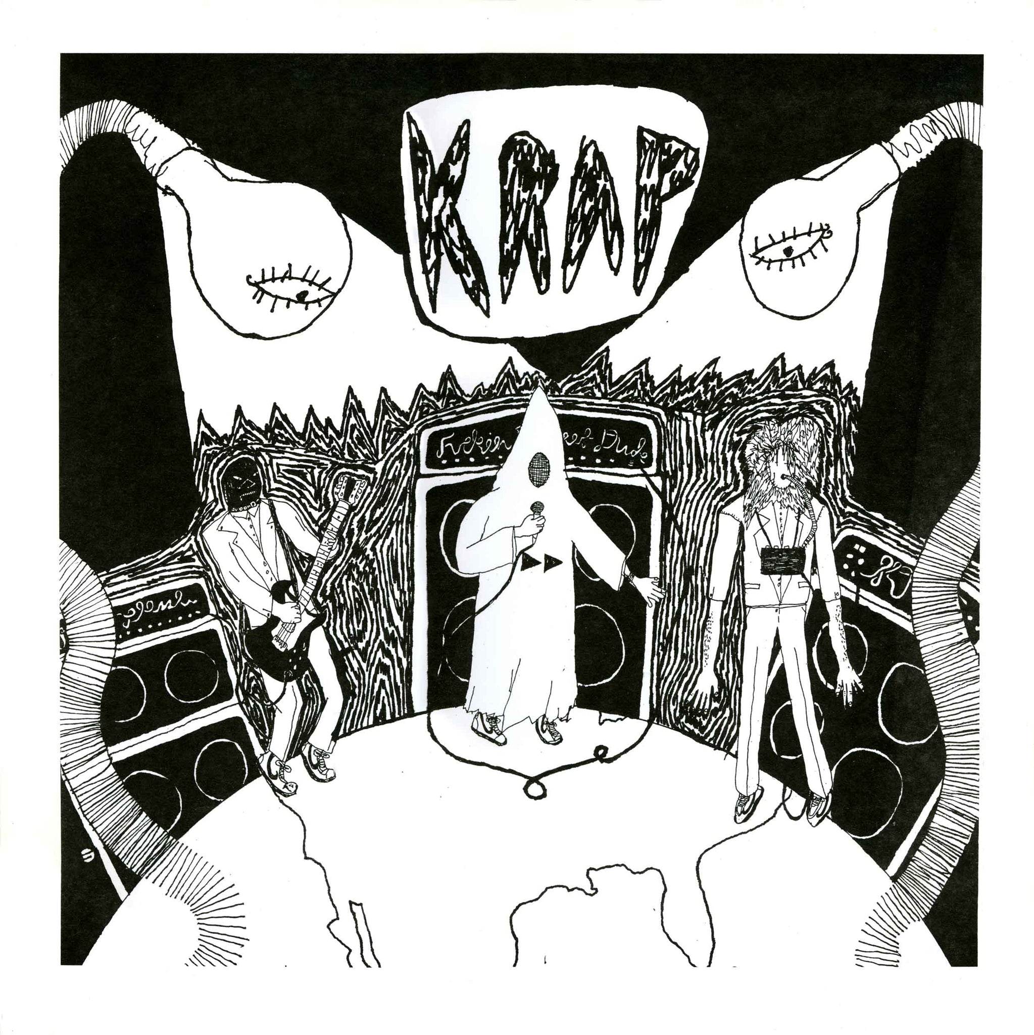 KRAP - Live at the Common Ground LP - Monoroid