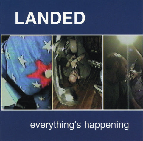 Landed - Everything's Happening CD - Monoroid
