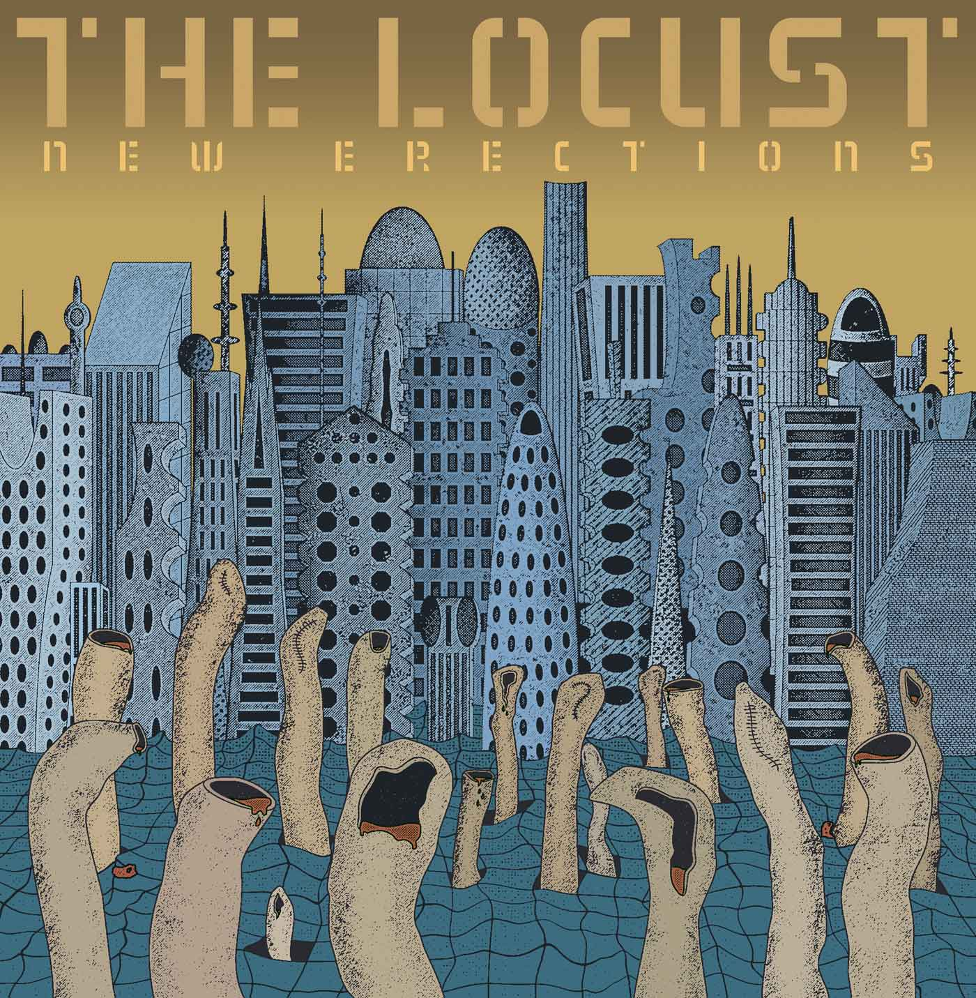 The Locust - New Erections LP - Monoroid