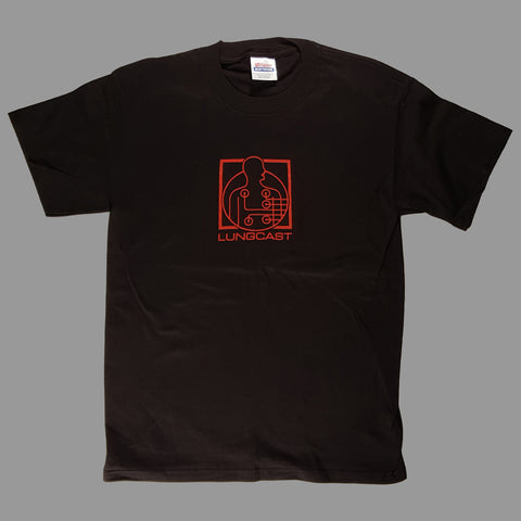 Lungcast Records Shirt - Monoroid