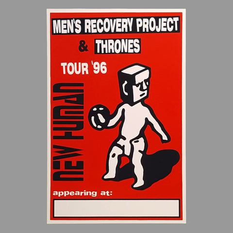 Men's Recovery Project / Thrones '96 Tour Poster - Monoroid