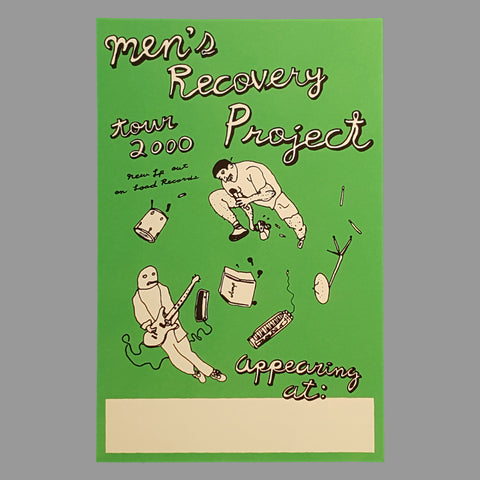 Men's Recovery Project 2000 Tour Poster - Monoroid