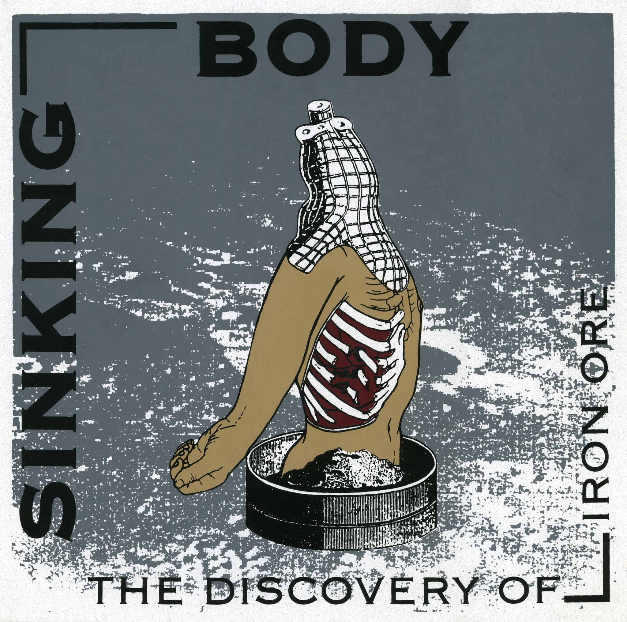 "Sinking Body - The Discovery of Iron Ore 10"" - Monoroid"