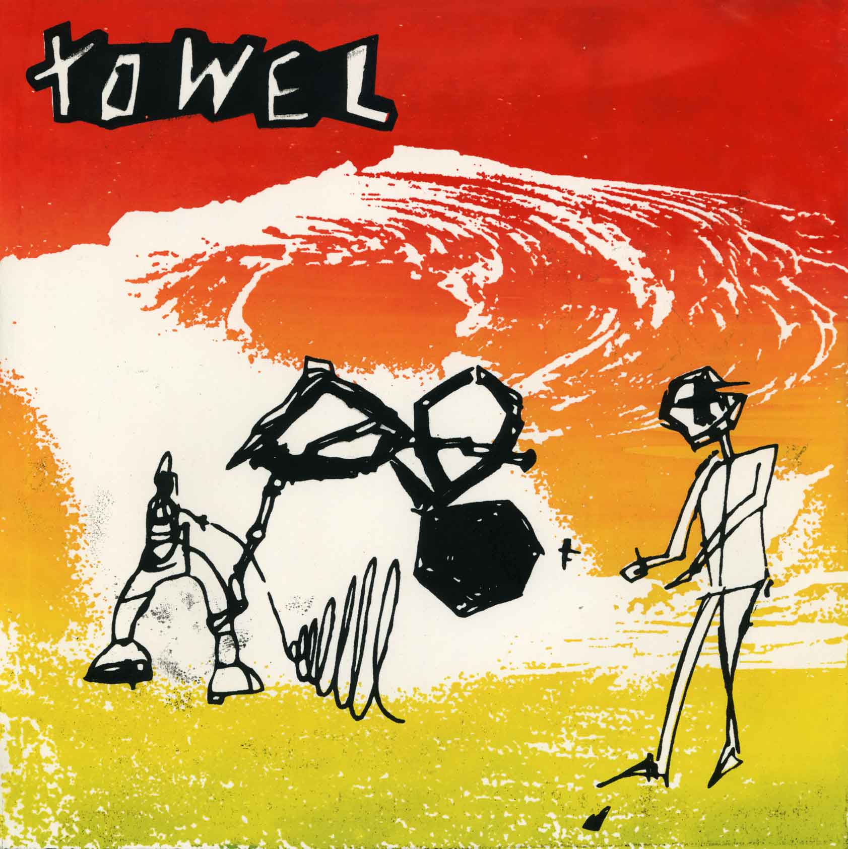 "Towel - 8"" ep - Monoroid"