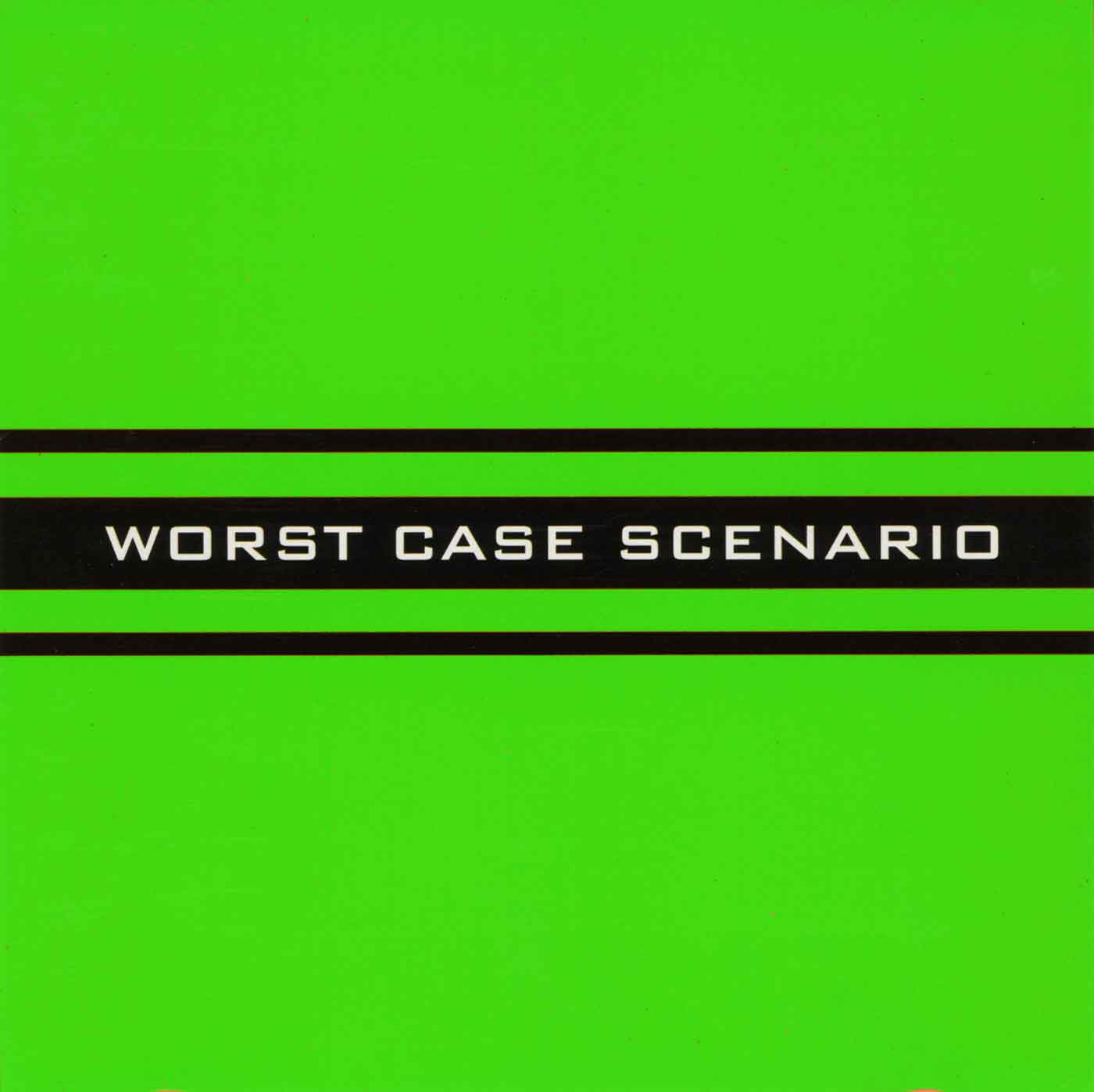 Worst Case Scenario - Self Titled LP - Monoroid