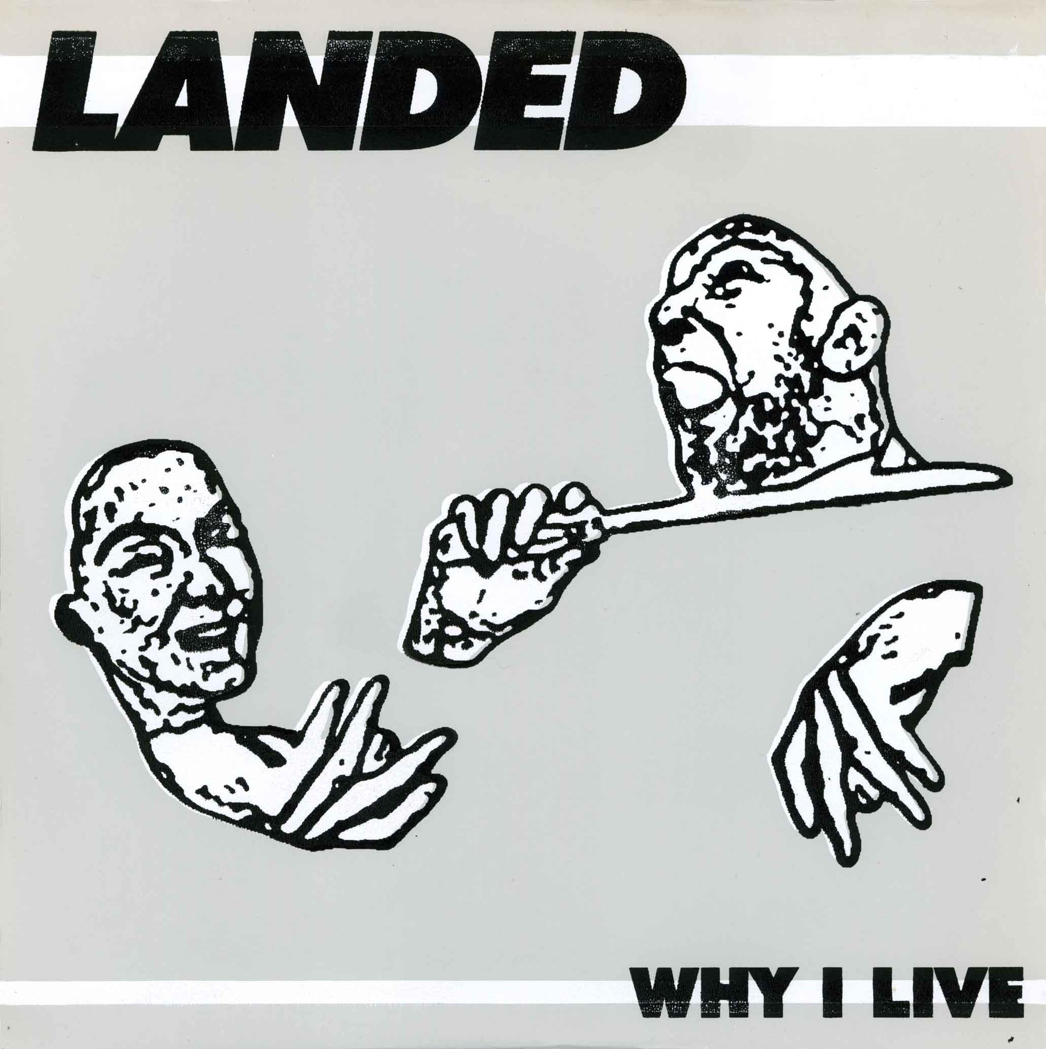 "Landed - Why I Live b/w Hit the Land 10""ep - Monoroid"