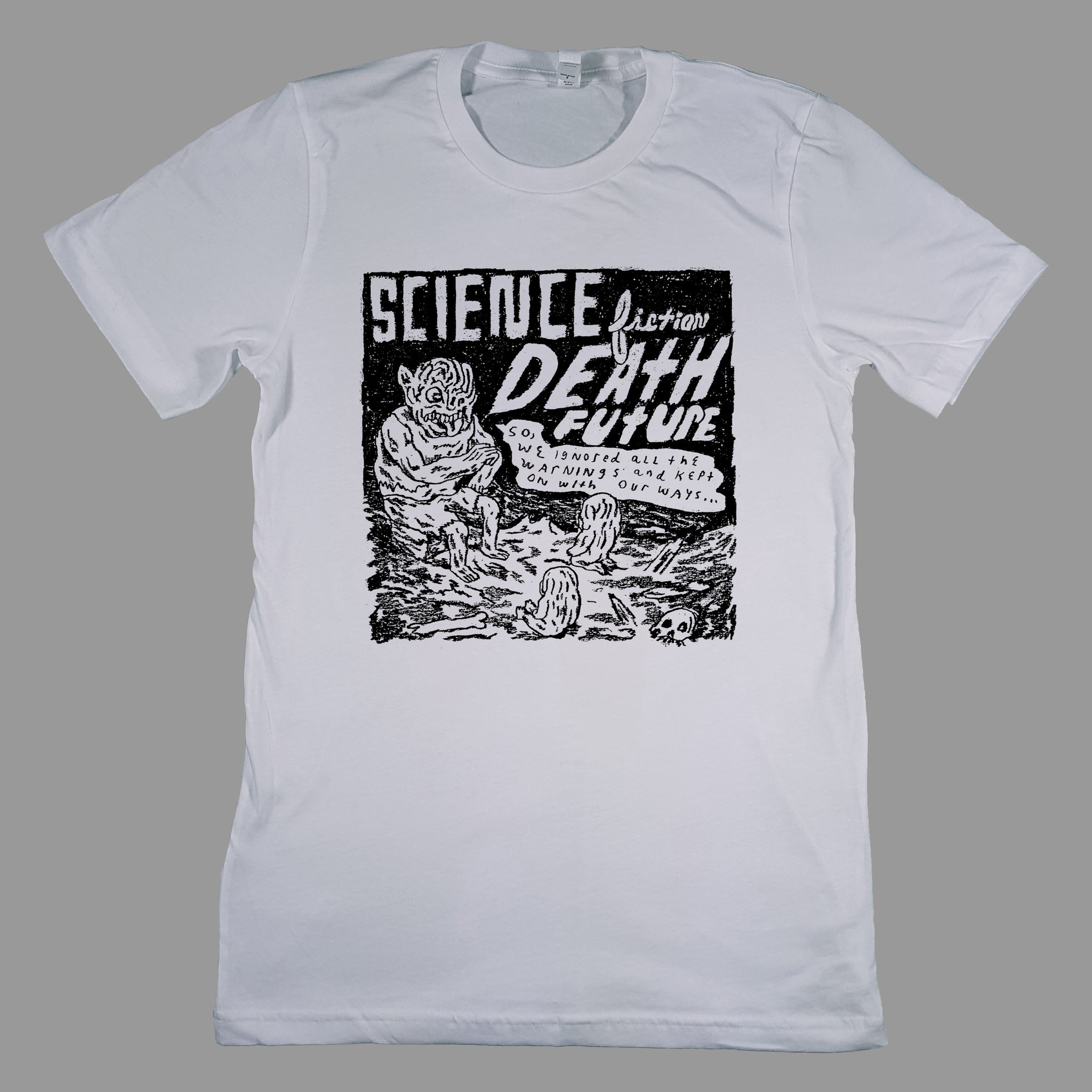 Science Fiction Death Future Shirt - Monoroid