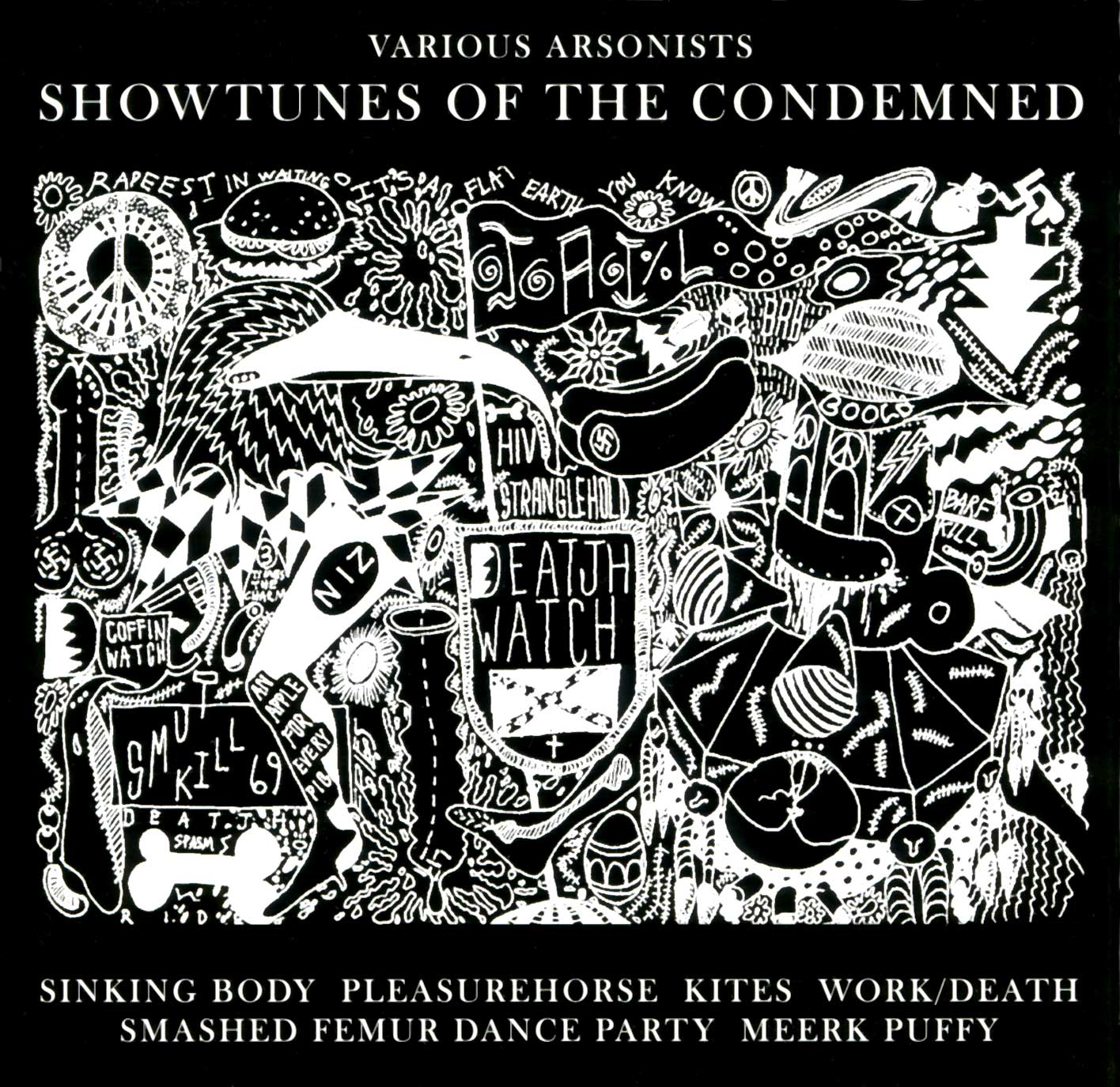 Showtunes of the Condemned - Compilation CD - Monoroid
