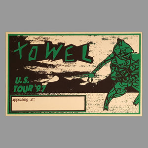 Towel Tour Poster - Monoroid