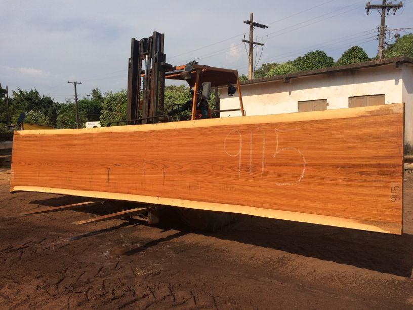 Jatoba-Brazilian Cherry – 2 3/4″ x 41″ to 50″ x 285″ - Big Wood Slabs