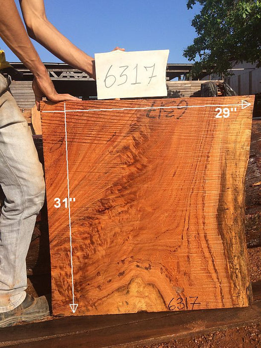 "Angelim Pedra - 2-3/4"" x 28"" to 29"" x 31"" - Big Wood Slabs"