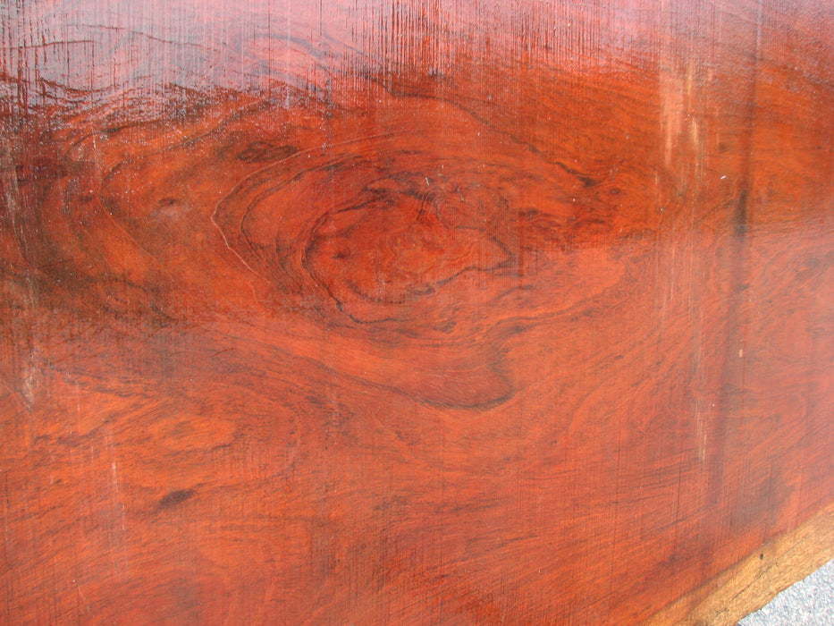 "Jatoba / Brazilian Cherry  #4191(LW) - 2-1/2"" x 28"" to 43"" x 106"" FREE SHIPPING within the Contiguous US. - Big Wood Slabs"