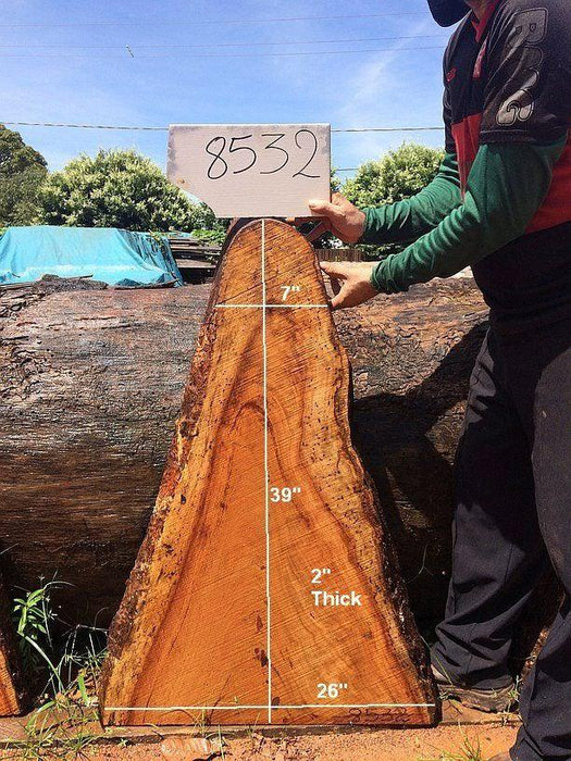 "Angelim Pedra #8532 - 2"" x 7"" to 26"" x 39"" FREE SHIPPING within the Contiguous US. - Big Wood Slabs"