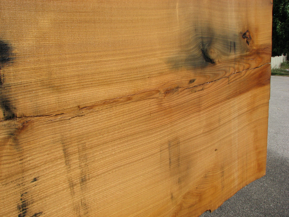 "Chestnut, American #4926 (LW) - 2-1/2"" x 31"" to 43"" x 103"" FREE SHIPPING within the Contiguous US. - Big Wood Slabs"