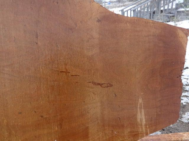 "Ipe / Brazilian Walnut - 1-3/4"" x 42"" x 104"" - Big Wood Slabs"