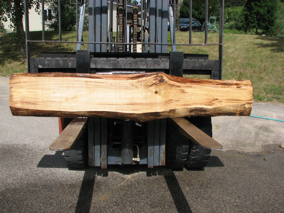 "Cottonwood #6431 - 2-1/2"" x 7"" to 12"" x 87"" - Big Wood Slabs"