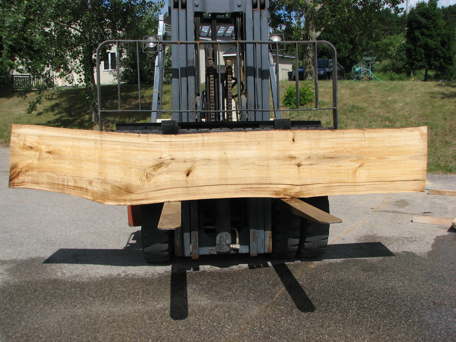 "Cottonwood #6433 - 2-1/4"" x 17"" x 126"" FREE SHIPPING within the Contiguous US. - Big Wood Slabs"