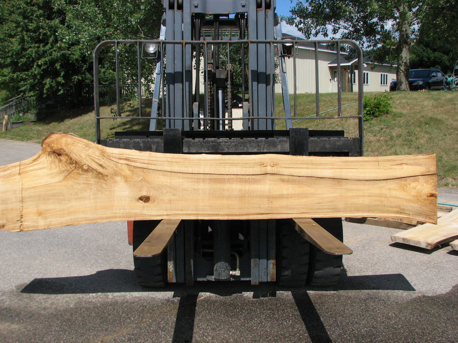 "Cottonwood #6438 - 2-1/4"" x 16"" to 24"" x 124"" - Big Wood Slabs"