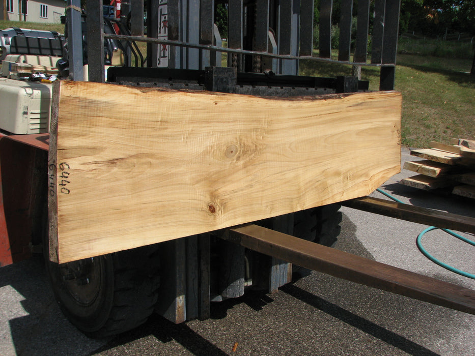 "Cottonwood #6440 - 2-1/8"" x 18"" to 22"" x 78"" FREE SHIPPING within the Contiguous US. - Big Wood Slabs"