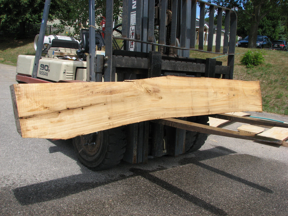 "Cottonwood #6444 - 4"" x 12"" x 124"" - Big Wood Slabs"