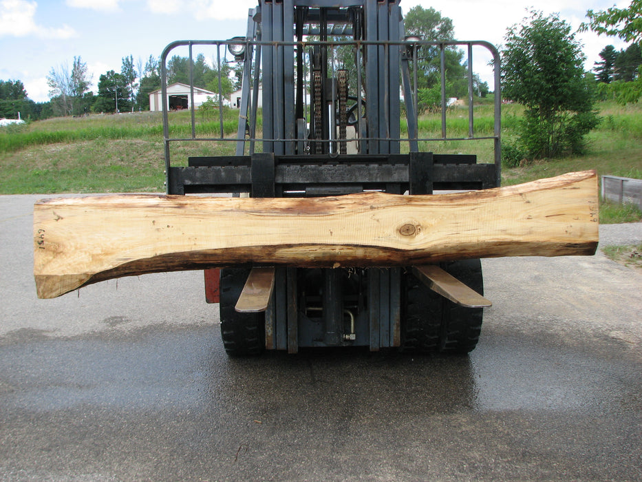 "Cottonwood #6451 - 2-3/4"" x 15 to 22"" x 119"" FREE SHIPPING within the Contiguous US. - Big Wood Slabs"
