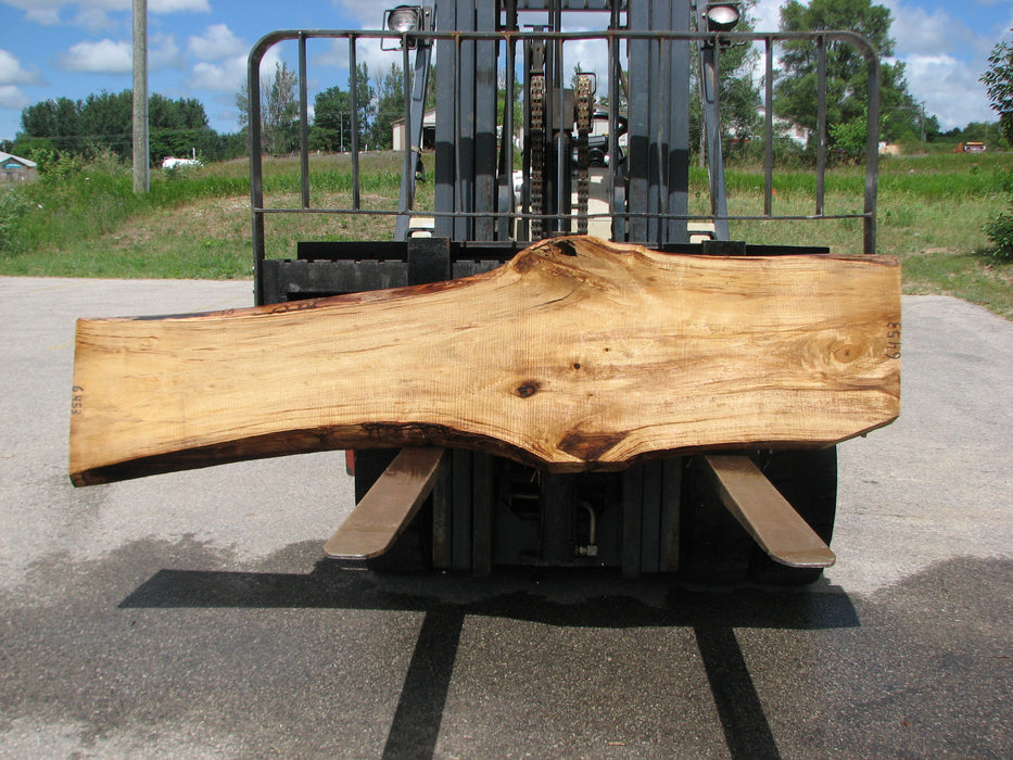 "Cottonwood #6453 - 2-1/4"" x 16 to 26"" x 95"" FREE SHIPPING within the Contiguous US. - Big Wood Slabs"