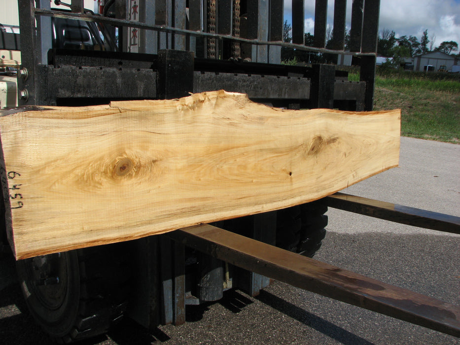 "Cottonwood #6459- 2-1/4"" x 12 to 16"" x 83"" FREE SHIPPING within the Contiguous US. - Big Wood Slabs"