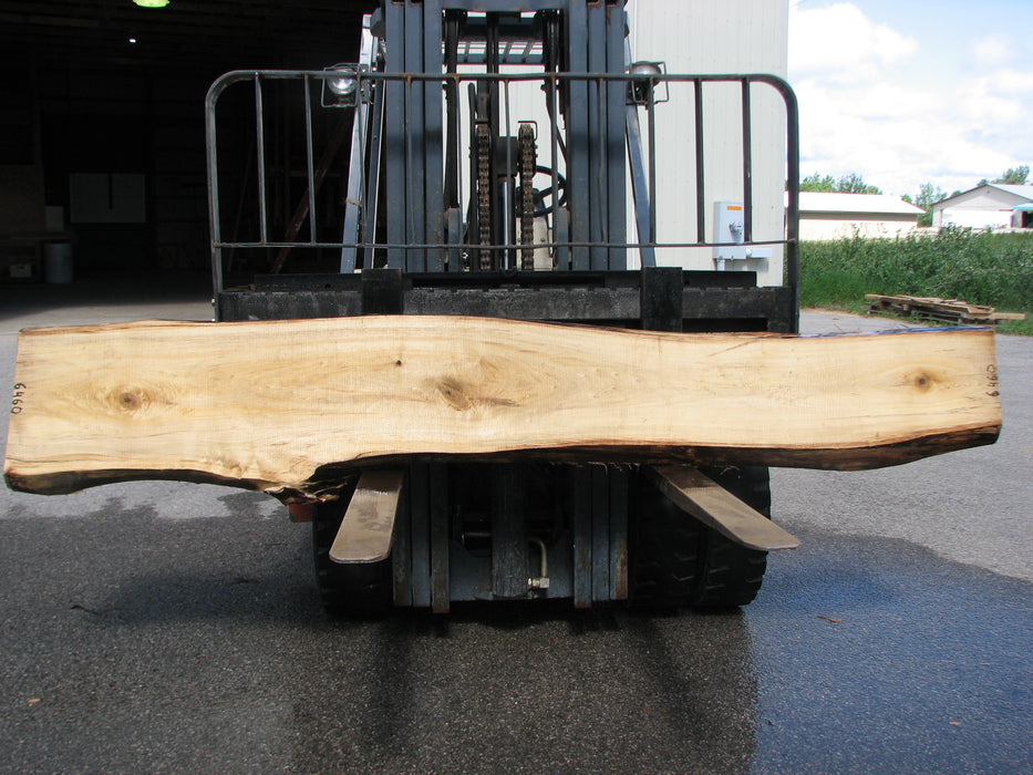 "Cottonwood #6460- 2-1/4"" x 12 to 20"" x 119"" FREE SHIPPING within the Contiguous US. - Big Wood Slabs"