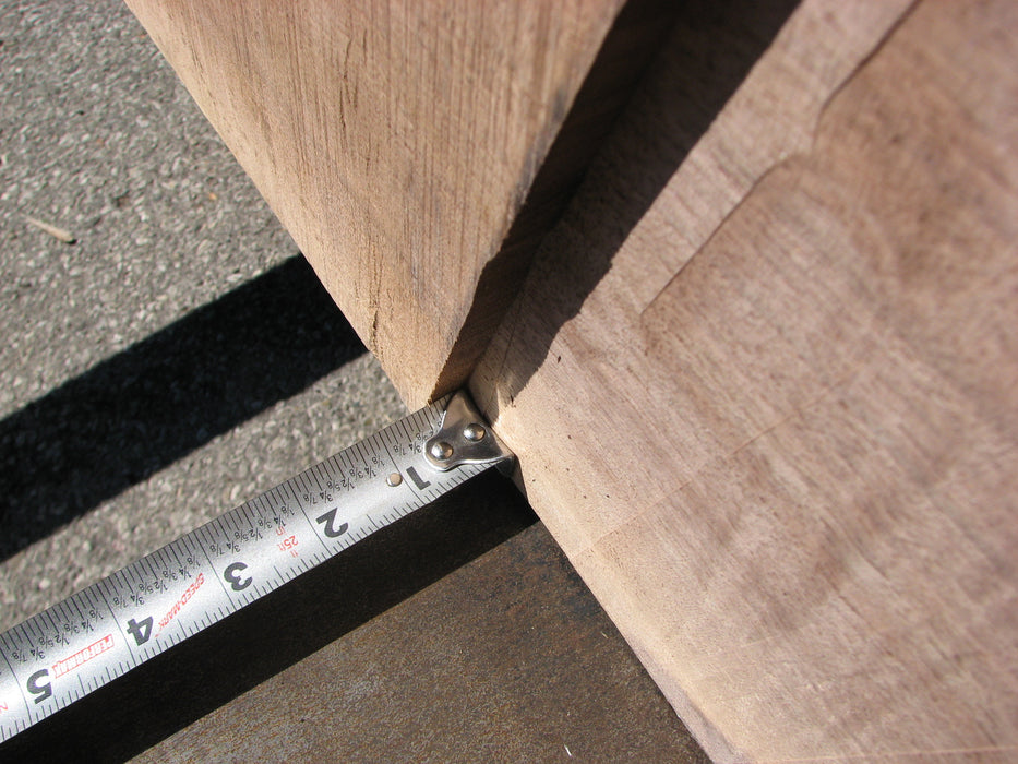 "Walnut, American #6803(JS) - 2-1/8"" x 34-1/2"" to 53"" x 87"""