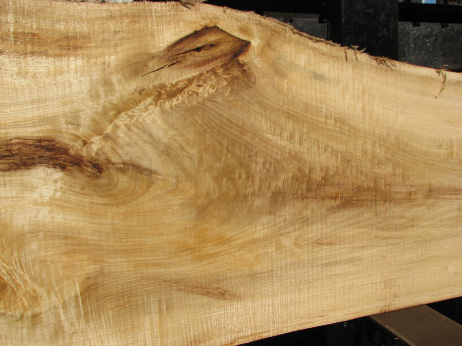 "Cottonwood #6807 - 2-1/4"" x 13"" to 21-3/4"" x 117"" FREE SHIPPING within the Contiguous US. - Big Wood Slabs"