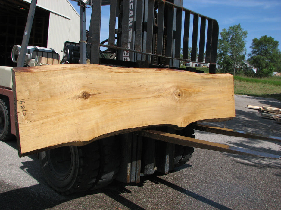 "Cottonwood #6812 - 2-1/4"" x 19"" to 21-1/2"" x 112"" - Big Wood Slabs"