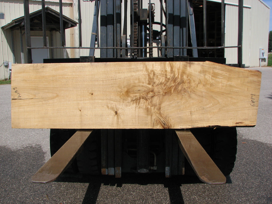 "Cottonwood #6814 - 2-1/4"" x 17-1/4"" to 21-1/4"" x 80"" FREE SHIPPING within the Contiguous US. - Big Wood Slabs"