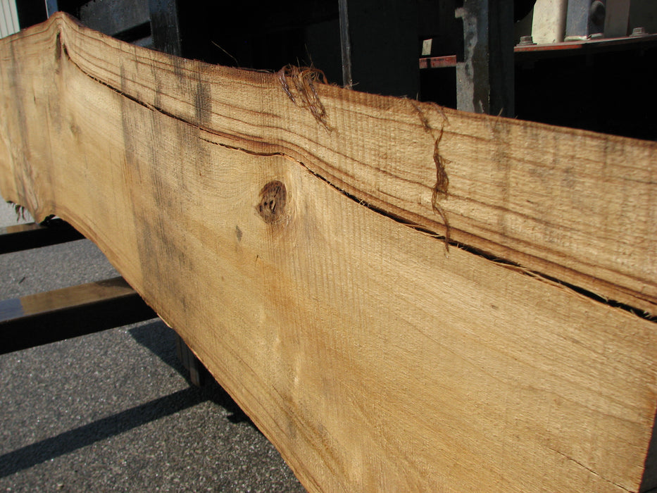 "Cottonwood #6816 - 3-3/4"" x 4-1/2"" to 17-1/2"" x 94"" - Big Wood Slabs"