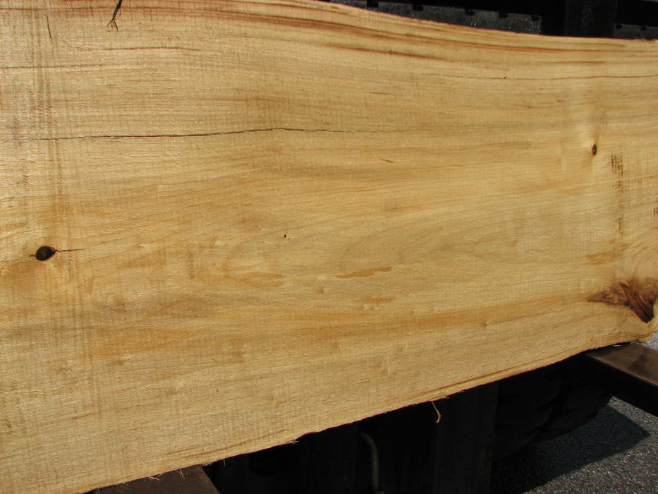 "Cottonwood #6817 - 3-1/4"" x 14"" to 20-1/2"" x 95"" FREE SHIPPING within the Contiguous US. - Big Wood Slabs"
