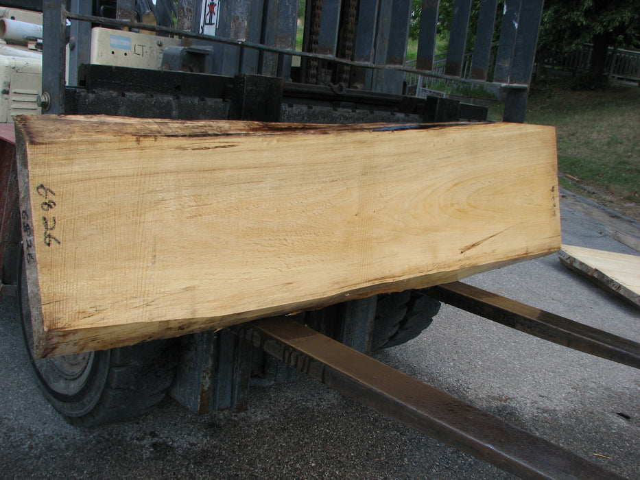 "Cottonwood #6826 - 2-1/4"" x 14"" to 19"" x 81"" FREE SHIPPING within the Contiguous US. - Big Wood Slabs"