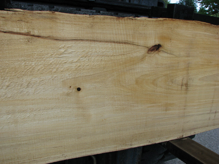 "Cottonwood #6826 - 2-1/4"" x 14"" to 19"" x 81"" - Big Wood Slabs"