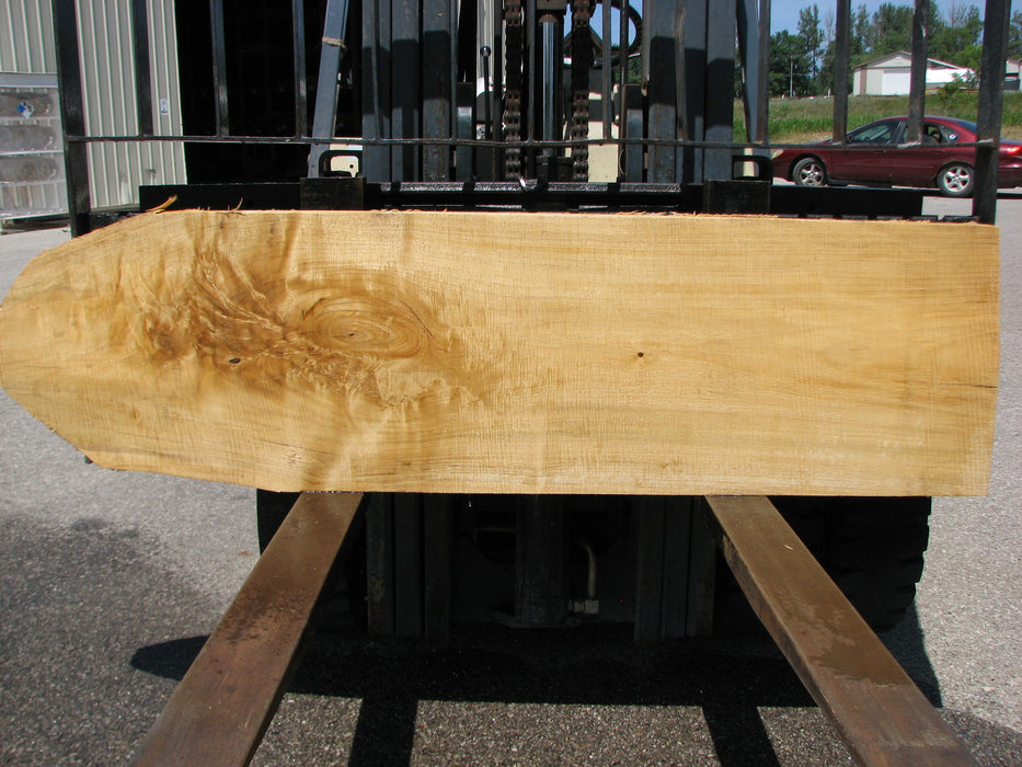 "Cottonwood #6830 - 2-1/4"" x 20-1/4"" to 21"" x 77"" FREE SHIPPING within the Contiguous US. - Big Wood Slabs"