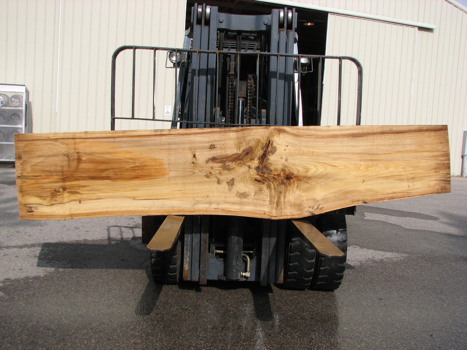 "Cottonwood #6847 - 2-1/4"" x 16-1/2"" - 25-3/4"" x 124"" FREE SHIPPING within the Contiguous US. - Big Wood Slabs"