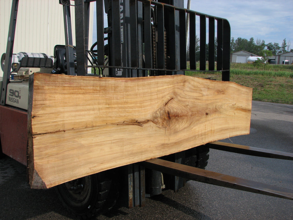 "Cottonwood #6849 - 2-1/4"" x 20-1/2"" to 24"" x 103"" FREE SHIPPING within the Contiguous US. - Big Wood Slabs"