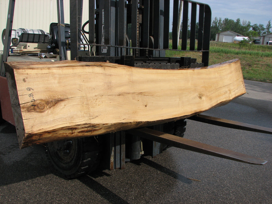 "Cottonwood #6851 - 4-1/2"" x 15-1/2"" - 17"" x 118"" FREE SHIPPING within the Contiguous US. - Big Wood Slabs"