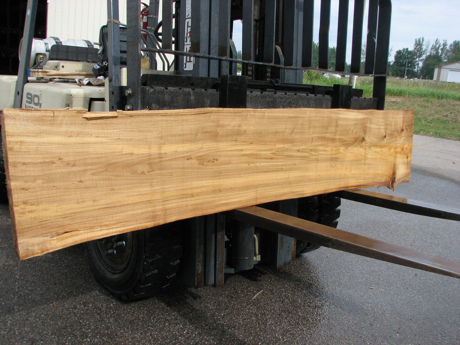 "Cottonwood #6855 - 2-1/4"" x 14"" - 17"" x 103"" FREE SHIPPING within the Contiguous US. - Big Wood Slabs"