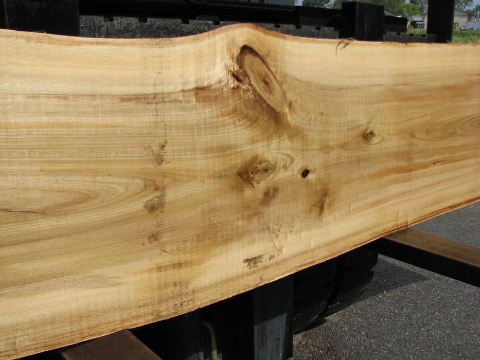 "Cottonwood #6859 - 3-5/8"" x 15"" - 22"" x 119"" FREE SHIPPING within the Contiguous US. - Big Wood Slabs"
