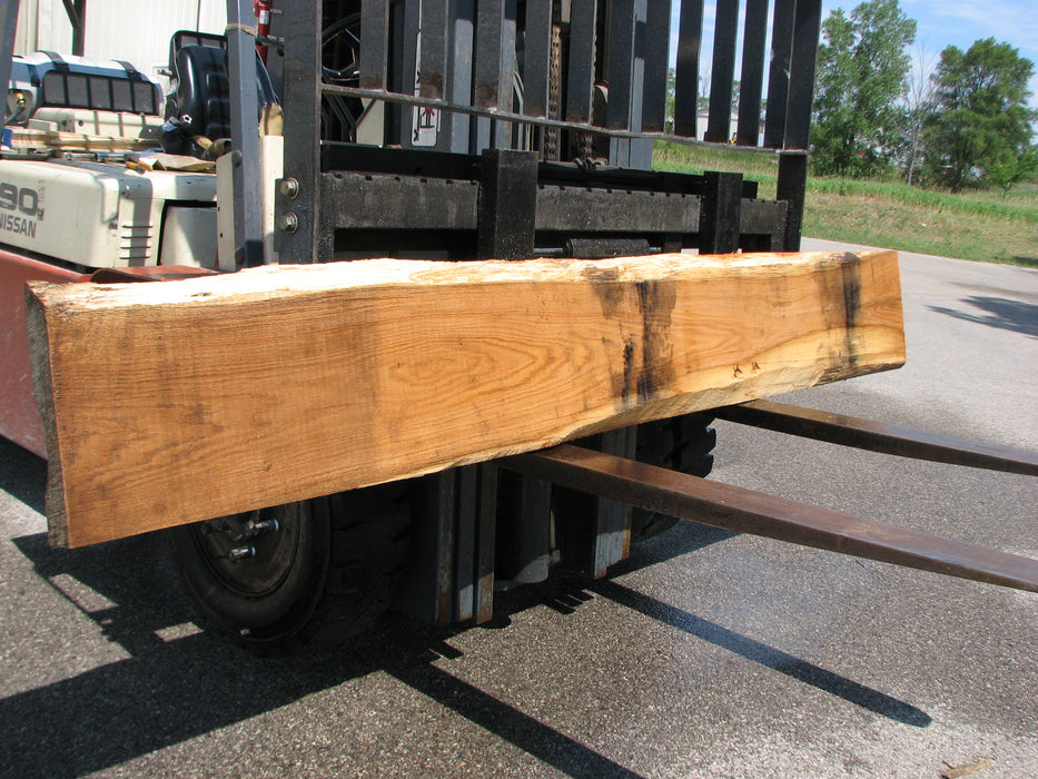 "Red Oak #6868 - 2-1/4"" x 15-1/2"" x 150"" FREE SHIPPING within the Contiguous US. - Big Wood Slabs"