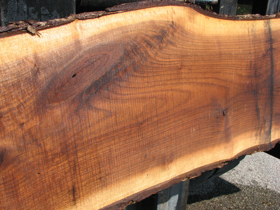 "Walnut, American #7040 (JS) - 2-3/8"" x 9"" to 23"" x 78"" FREE SHIPPING within the Contiguous US. - Big Wood Slabs"